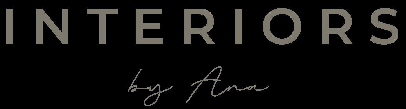 Interiors by Ana Logo